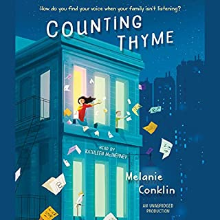 Counting Thyme                   By:                                                                                                                                 Melanie Conklin                               Narrated by:                                                                                                                                 Kathleen McInerney                      Length: 8 hrs and 10 mins     56 ratings     Overall 4.8