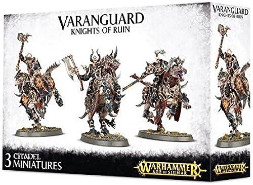 Varanguard Knights of Ruin - Chaos Everchosen - Age of Sigmar by Warhammer  Age of Sigmar