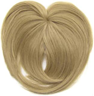 Flykee Silky Clip-On Hair Topper Wig Heat Resistant Fiber Hair Extension for Women