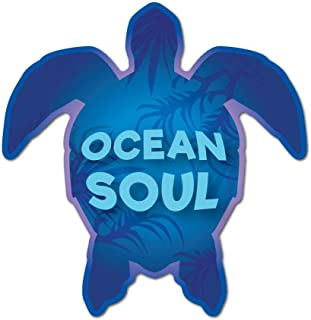 Ocean Soul Turtle Sticker Decal Funny Hype Popular Fashion Silly New Cool