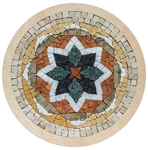 Neptune Mosaic Sarl - Mosaic Box Stella, Multicolor, MSB