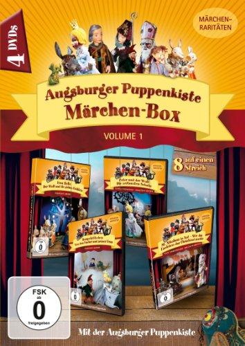 Augsburger Puppenkiste Märchen-Box, Vol. 1 (8 Märchen-Raritäten auf 4 DVDs)