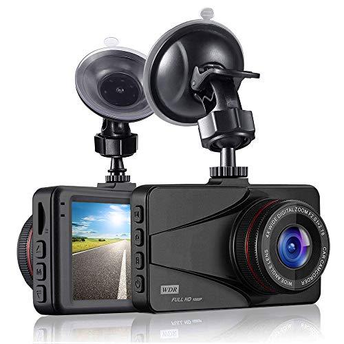 [Neu im Jahr 2020] Dash Cam 1080P FHD Dash-Kamera 3,0-Zoll-Bildschirm-Instrumententafel-Kamerarekorder mit Nachtsicht, 170 ° -Weitwinkelrekorder und Bewegungserkennungsringaufzeichnung