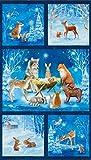 Robert Kaufman Fabrics Warme Wishes Weihnachtskrippe im