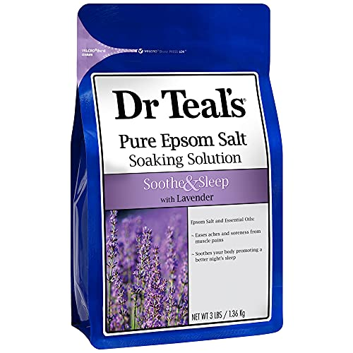 Dr Teal's(ティールズ) フレグランスエプソムソルト ラベンダー 入浴剤 1360g