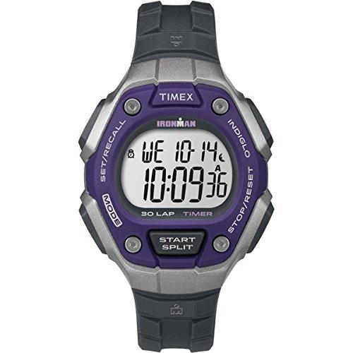 Timex Damen Sportuhren Ironman Classic 30 TW5K89500, Grau (Dunkel)
