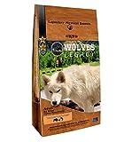 WOLVES LEGACY® Pienso para Perros Super Premium | Todas Las Razas pequeñas, Medianas y Grandes | con Salmón Fresco, Buey y Pollo - 12 kgs