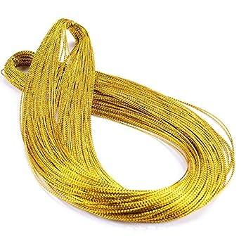 gold braiding cord for hair