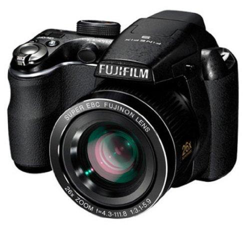 FUJI FOTO.DIG. S-3300 BLACK 14MP LCD 3 . Z ottico 26X. 24mm. stabilizatore ottico. filmati HD