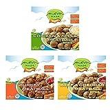 Mom Made Meatballs - Variety Pack - Turkey, Chicken Apple, Beef & Cheddar, Antibiotic-free, Healthy...