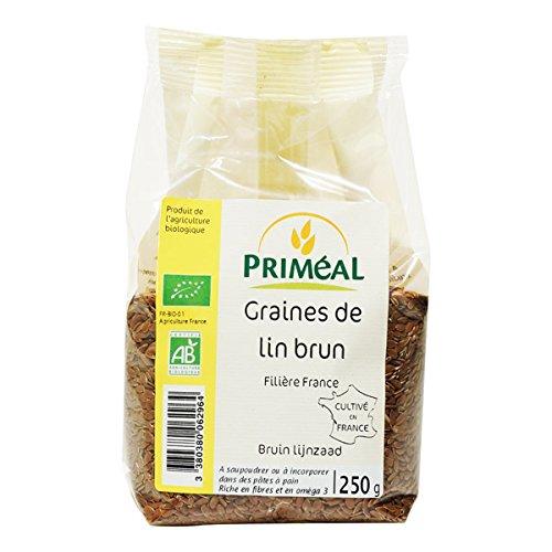 Priméal - BIO - Graine de Lin Brun France 250 g