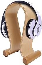 Yinuoday Houten Hoofdtelefoon Stand Headset Hanger Rack Oortelefoon Boog Vorm Standhouder voor Desktop Tafel Accessoires