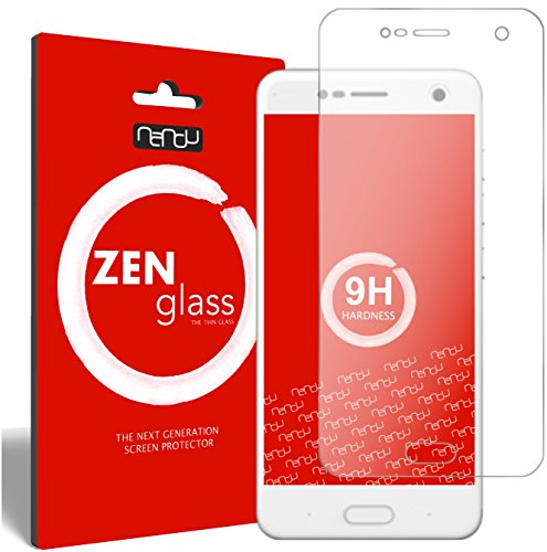 ZenGlass Flexible Glas-Folie kompatibel mit ZTE Blade V8 Panzerfolie I Bildschirm-Schutzfolie 9H I (Kleiner Als Das Gewölbte Bildschirm)