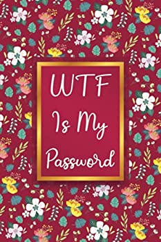 Password Logbook With Alphabetical Tabs  Organizer Book To Keep & Protect All Internet Data Address Login Username & Passwords | Remember Notebook Floral Cover Fun Log Gift Small Print Journal