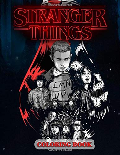 Stranger Things Coloring Book: Jumbo Amazing Coloring Book F
