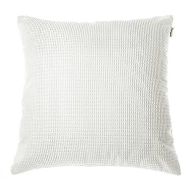 Noblidonna Pillowcase Throw Pillow Cover (NO INSERT) (24'' 24''(2PCS), White)