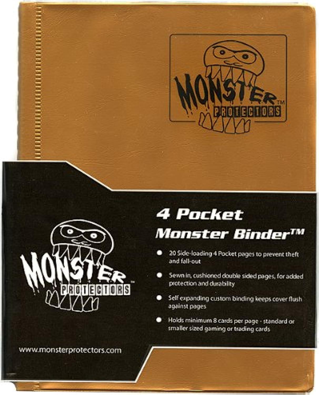 Monster Binder 4 Pocket Matt Gold Album – Hält 160 Yu Gi-Oh Magic und Pokemon Karten B00B7QK8SK Zu einem erschwinglichen Preis  | Guter Markt