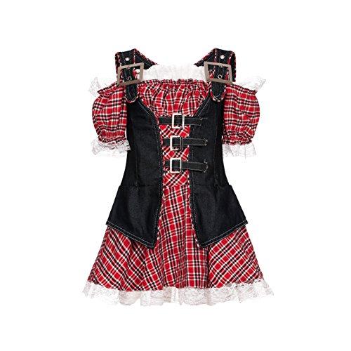 Kostümplanet® Cowgirl-Kostüm Mädchen Cowboy Kinder Kostüm Faschingskostüme Größe 140