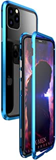 For iPhone 11 Pro magnetic mobile phone shell all-inclusive for Apple 11 Pro double glass Case magnetic Protective cover m...