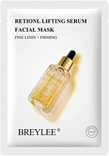 Gezichtsmasker Collageen Gezichtsmasker Retinol Treatment Serum Moisturizer Masker wit Retinol Serum Mask