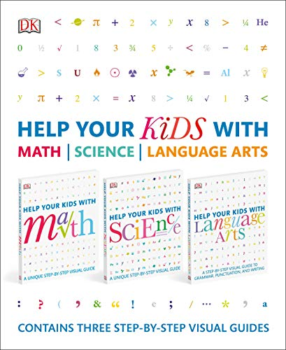 Help Your Kids With Math, Science, and Language Arts Box Set: Contains Three Step-by-Step Visual Guides