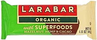 Larabar Bar Superfoods Hazelnut Hemp Cacao, 1.6 oz