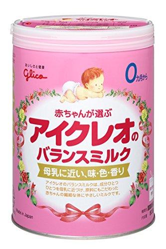 江崎グリコ アイクレオ『バランスミルク 大缶 800g』