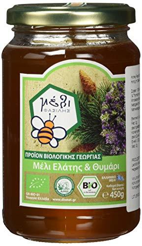 Organic Honey Fasilis Bio Tannenbaum & Thymian Honig im Glas, 450 g