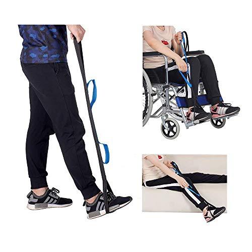 Gesundheit Körperpflege Beinheber Gurt Mobilität Heben Beinheben Hilfen für ältere Menschen Heben der Beine hoch Gurte Senior Handicap Disability Lifter Fuß mit Handgriff für Rollstuhl Stuhl Bett A