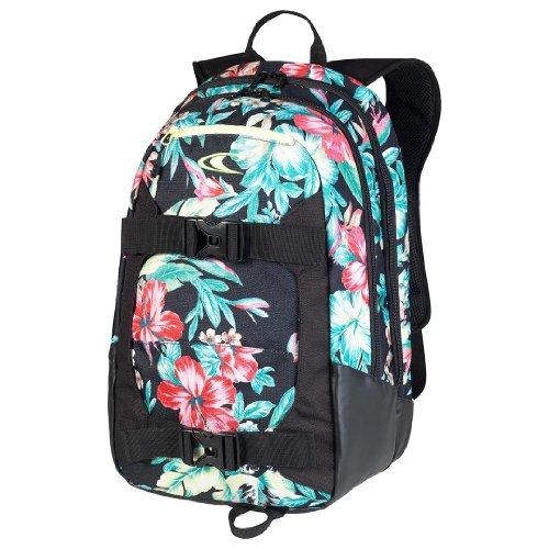 O'Neill Rucksack AC Boarder Backpack, green aop, 49 x 33 x 18 cm, 29 liters, 329015
