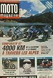 Moto Magazine - Comparatif GT 4000 km a travers les alpes - 179
