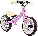 BIKESTAR Mitwachsendes Kinder Laufrad Lauflernrad Kinderrad für Mädchen ab 2-3 Jahre | 10 Zoll Sport Flex Kinderlaufrad | Pink | Risikofrei Testen