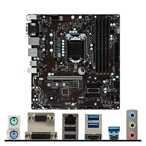 Tablero de reemplazo de computadora ATX Placa Base Fit For MSI B250M Pro-VDH Para LGA-1151 Intel 6th / 7th VGA DVI HDMI USB3.1 M.2 SATA3 Tipo-A Tipo-C Micro-ATX PC Placa Base De PC Placa base de compu