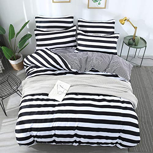 Stilvolle junge Mädchen Nachahmung Schule Winter Einzelbett, Doppelbett Quilt Set drei oder vier Sätze von natürlichen Wind UK-Double