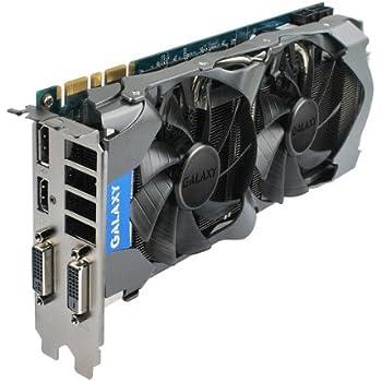 GALAXY NVIDIA グラフィックボード GeForce GTX660Ti GPU搭載 (オーバ-クロックモデル) GF PGTX660TI-OC/2GD5