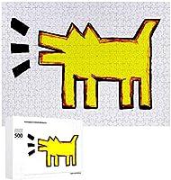 Tuanzi 500/1000ピース 木製パズル Puzzle キースヘリング 壁飾り ジグソーパズル スジグソーパズル パズル絵画 知育玩具 Jigsaw インテリア ウォールアート 壁の装飾 プレゼント コレクション 親子ゲーム おもちゃ 収納ケース付き TOYS