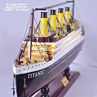 "AA Nautical Collections Sale 31-39"" RMS Titanic Model Ship with Interior Light, Wooden Cruise Ship; Exquisite Quality; Great Holiday Present Gift; Ready to Display (31inches)"