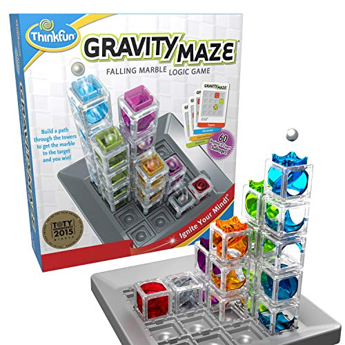 ThinkFun Gravity Maze Marble Run Brain Game and STEM Toy for Boys and Girls Age 8 and Up - Toy of the Year Award Winner
