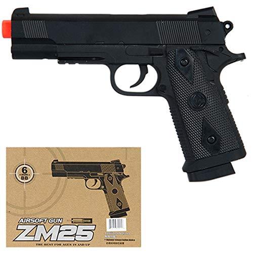 Airsoft CYMA M1911 Full Metal Body - Spring Handgun Pistol - Side Arm - ZM25B