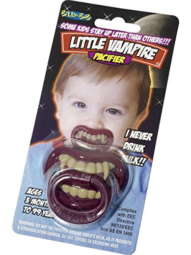 Smiffys Baby Vampir Gebiss Schnuller Halloween Karneval Fasching