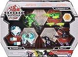 Bakugan Armored Alliance – Caja Gear – Pack de Bakugan – 3 bakugan Ultra con Accesorios Baku-Gear – 6059292 – extraído del Dibujo Animado Bakugan – Juguete Infantil de 6 años y + Bakugan