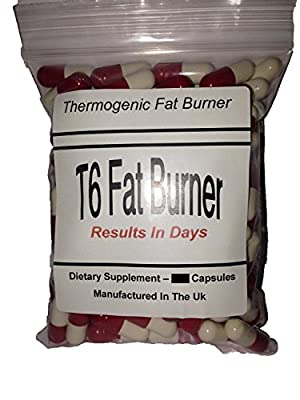 T6 Fat Burners X 60 Capsules - Made in The UK - *****Buy 2 GET 1 Free***** for Weight Loss, Appetite Suppressant - for Men and Women and T5 Thermo Red, Extra Strong Fat Burners Slimming Pills