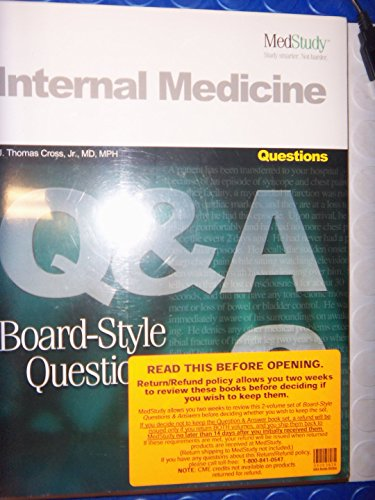 Medstudy Internal Medicine Board-Style Questions and Answers-2