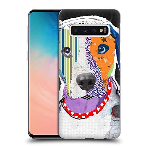 Head Case Designs Offizielle Michel Keck Catahoula Leopard H&e 3 Harte Rueckseiten Huelle kompatibel mit Samsung Galaxy S10