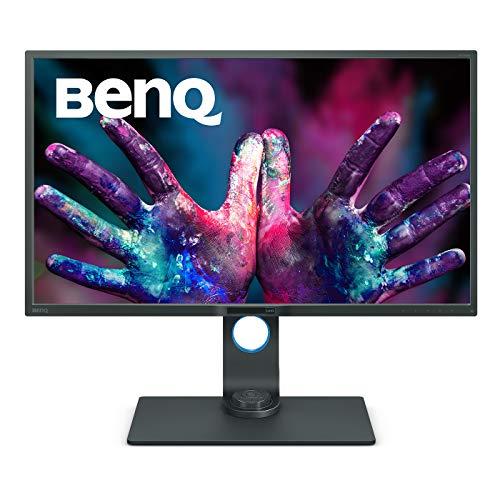 BenQ PD3200U - Monitor Profesional para Diseñadores de 32' 4K UHD (3840x2160, IPS, 100%Rec.709/sRGB, CAD/CAM, Hotkey Puk,...