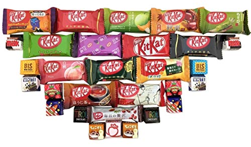 Assortment of Japanese Kit Kats