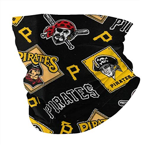 VF LSG Pittsburgh Pirates Face Mask Reusable Breathable Protection UV Wind Dust Banadas Safety for Men Women