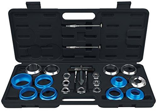 KS Tools 700.1280 Wellendichtring und Simmerring Montagewerkzeug-Satz, 24-tlg.