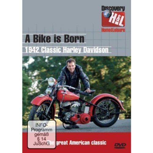 A Bike Is Born: 1942 Classic Harley Davidson