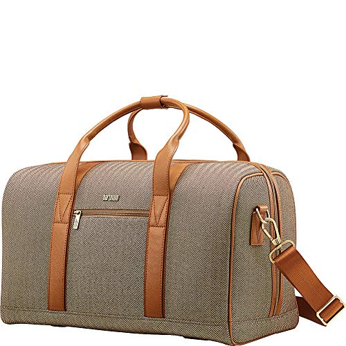 Hartmann Deluxe Weekend Duffel, Terracotta Herringbone, One Size